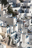 Terraces in Fira, Santorini — Stock Photo