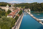 Matte quartier, Bern — Stockfoto