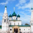 Church of Elijah the Prophet in Yaroslavl, Russia — Stock Photo