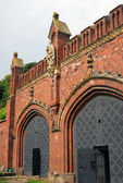 Friedland gates in Kaliningrad, Russia. — Stock Photo