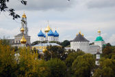 Panorama of the Trinity Sergius Lavra (Russia) in summer — Stock Photo