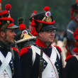 Stock Photo: Borodino 2012 historical reenactment in Russia