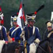Borodino 2012 historical reenactment in Russia — Stock Photo