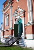 Vstup do kostela v Kremlu kolomna, Rusko — Stock fotografie