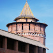 Beautiful Kremlin tower and wall in Kolomna, Moscow region, Russia. - Stock Photo
