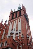 Music hall (former church) building in Kaliningrad, Russia — Stock fotografie