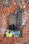 War memorial. Fortification N 5 in Kaliningrad, Russia. — Stock Photo