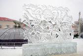 Dmitrov buz heykeller. — Stok fotoğraf