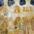 Stok fotoğraf: Painting on facade of Arkhangel's church. Moscow Kremlin.