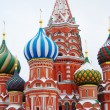St. Basil Cathedral, Red Square, Moscow, Russia. UNESCO World He — Stok Fotoğraf #19823545