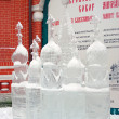 Ice Sculpture exhibition on the Red Square — 图库照片