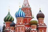 聖バジル大聖堂、赤の広場、モスクワ、ロシア。ユネスコ世界彼は — ストック写真