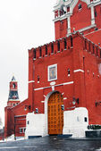 Moscow Kremlin. Spasskaya Clock Tower. — Stock Photo
