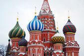 St. Basil Cathedral, Red Square, Moscow, Russia. — Stock Photo