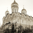 Arkhangel's church in winter. Moscow Kremlin. Sepiphoto. — Stock Photo #21831821