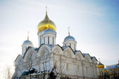 Arkhangel's church in winter. Moscow Kremlin. — Stock Photo