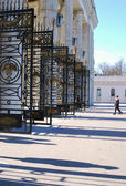 Entrance to the Gorky Park, Moscow. — Stock Photo
