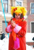 Celebración del carnaval en Moscú — Foto de Stock