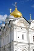 Arkhangel 的教会在冬天。莫斯科克里姆林宫. — Photo