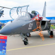 YAK-130 at International Aerospace Salon MAKS-2013 — Stock Photo #30753615