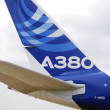 Aerobus A380 at International Aerospace Salon MAKS-2013 — ストック写真