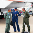 Pilots at International Aerospace Salon MAKS-2013 — Stock Photo #30754929