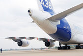 Aerobus A380 at International Aerospace Salon MAKS-2013 — Stock Photo