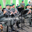 Military Band Tirol (Austria) performs in Moscow — Stock Photo