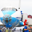 International Aerospace Salon MAKS-2013 — Stock Photo