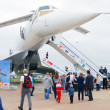 Tu-144 at International Aerospace Salon MAKS-2013 — Stock Photo