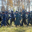 Moscow battle historical reenactment — Stock Photo #33396895