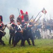 Borodino 2012 historical reenactment — Stock Photo