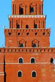 Moscow Kremlin tower. — Stock Photo