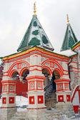 圣巴兹尔大教堂、 红场,莫斯科,俄罗斯。教科文组织世界他 — 图库照片