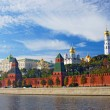 Stock Photo: Moscow Kremlin panorama.