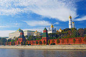 Moscow Kremlin panorama. — Stock Photo
