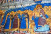 Interior of the Church of Elijah the Prophet in Yaroslavl city, Russia. — Stock Photo