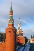 Moscow Kremlin in winter — Stock Photo