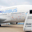 Airbus A380 at International Aerospace Salon MAKS-2013 — Stock Photo #37638599