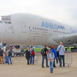 Airbus A380 at International Aerospace Salon MAKS-2013 — Stock Photo #37638605
