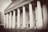 Bolshoi opera and ballet theater in Moscow — Foto de Stock