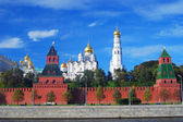 Moscow Kremlin panorama in summer. — Stock Photo