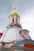 Church Domes in Trinity Sergius Lavra — Stock Photo