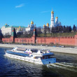 Moscow Kremlin panorama in a sunny day. — Stock Photo