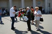 Celebración del día de victoria en moscú — Foto de Stock