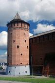 Vecchia torre. cremlino di kolomna, russia. — Foto Stock