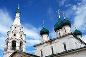 Church of Elijah the Prophet in Yaroslavl (Russia). — Stock fotografie