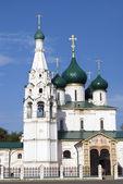 Church of Elijah the Prophet in Yaroslavl (Russia). — Zdjęcie stockowe
