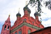Epiphany church in Yaroslavl, Russia. — Stock Photo