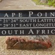 Cape Point sign — Stock Photo